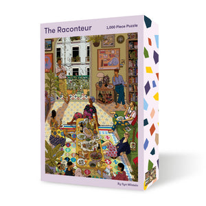 The Raconteur: 1000 Piece Puzzle