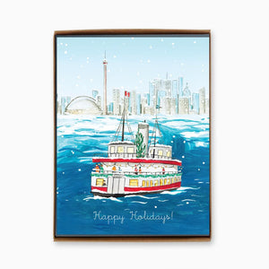 Toronto Island Ferry - Box of 8 Greeting Cards