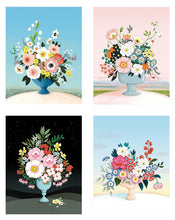 Load image into Gallery viewer, Flower Vases Assorted Card Set