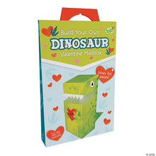Load image into Gallery viewer, Dinosaur Valentine Mailbox