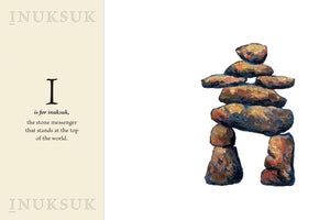An Inuksuk Means Welcome