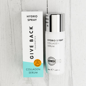 Hydro Spray – Collagen Serum - Spende: Soziales