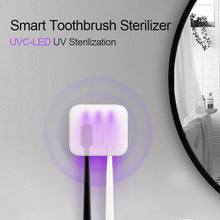 Load image into Gallery viewer, Ultraviolet Toothbrush Sterilizer with Automatic Toothpaste Dispenser