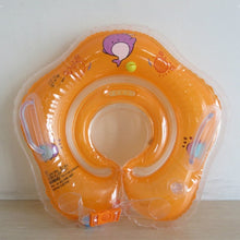 Load image into Gallery viewer, Swimming Baby Accessories Neck Ring Tube Safety Infant Float Circle for Bathing Inflatable Flamingo Inflatable Water