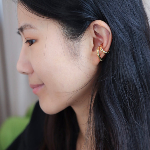 Gold Mamba Ear Cuff Mini 耳骨夾