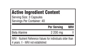 SSA Beta Alanine 120 Caps