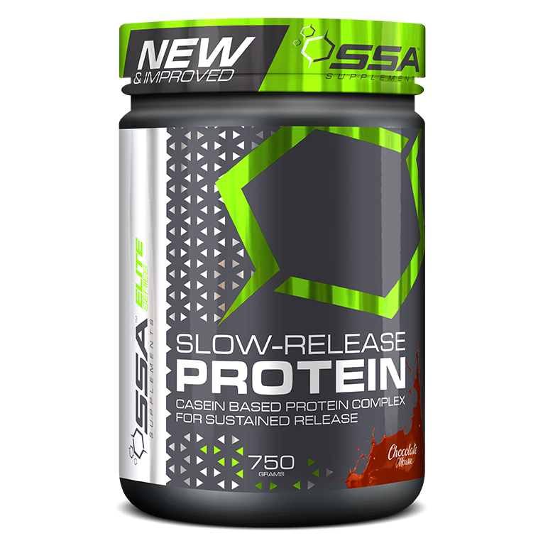 SSA Slow-Release Protein 750g Infused with GABA