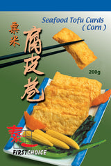 First Choice - Sweetcorn Tofu Curd 200g