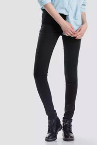 "Part of the Premium collection, these 721 High Rise Skinny Jeans flatter your body and holds everything in the right place. With a waist defining fit and fitted cut throughout leg, you won't worry about bulging or gaping denim.  Sculpted with Levi's sculpt fabrication with 4-way stretch in a high-performance stretch designed to move with you in every direction.  - 10"" high rise  - Slim throughout leg and thigh  - Extreme stretch, size down"
