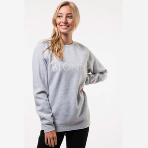 Brunette the Label BLONDE Classic Crew Neck Sweatshirt