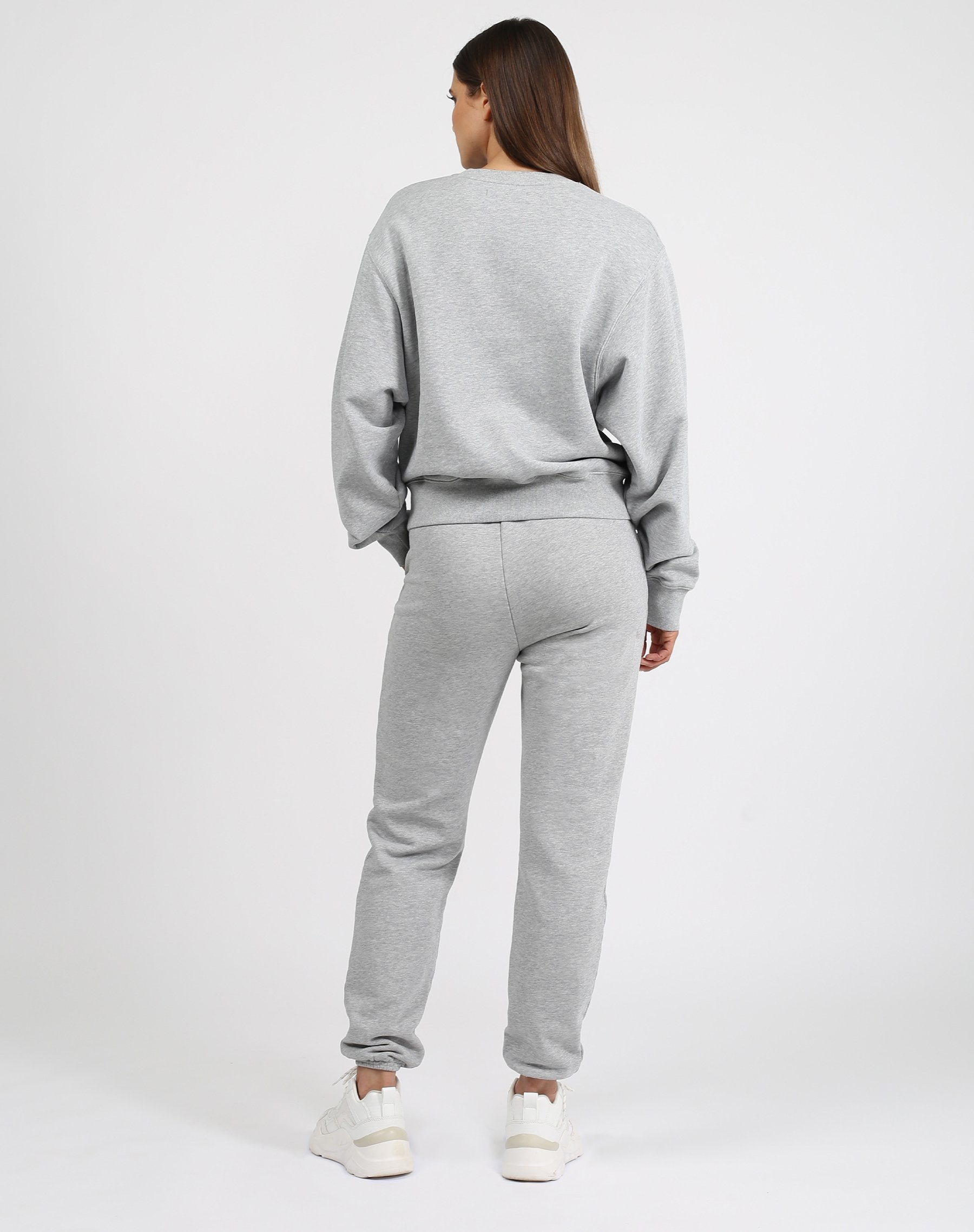 "Meet your new Best Friend. Our new style of Jogger is the Best Friend fit. She has a high rise waist and a relaxed, slim leg with a 28"" inseam.     Our Basics collection is 100% cotton and has already been preshrunk so it'll fit you perfectly. We recommend sticking true to size for this collection."