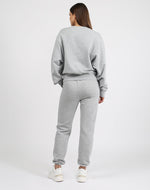"Load image into Gallery viewer, Meet your new Best Friend. Our new style of Jogger is the Best Friend fit. She has a high rise waist and a relaxed, slim leg with a 28"" inseam.     Our Basics collection is 100% cotton and has already been preshrunk so it'll fit you perfectly. We recommend sticking true to size for this collection."