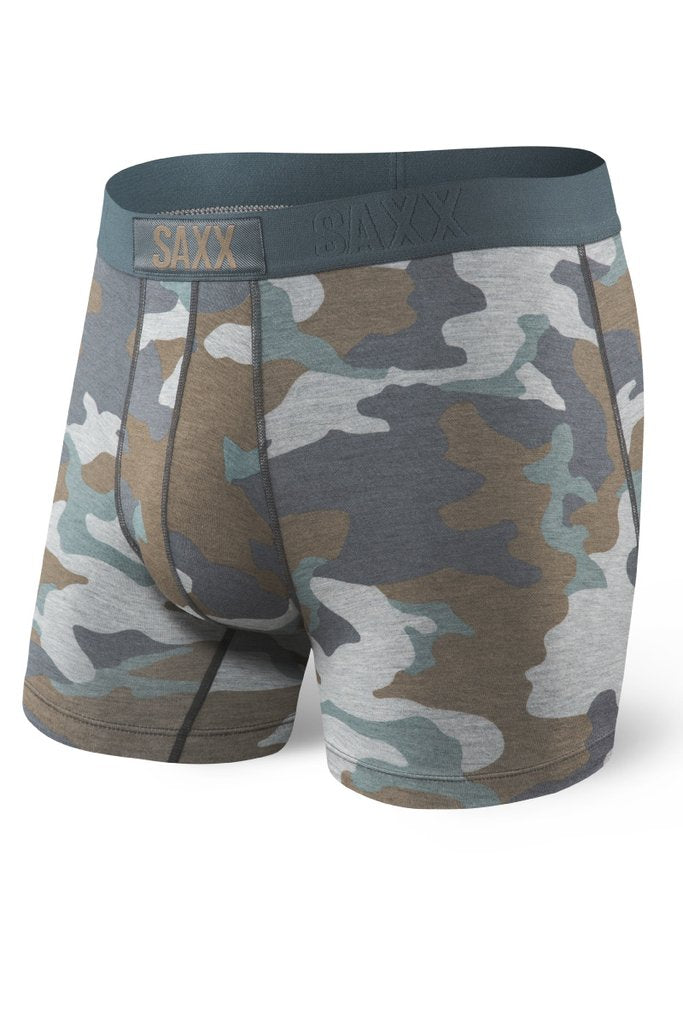 CAMO Slim fit: super-soft, breathable, no fly.   MADE FOR  The guy whose sense of style runs deep. These best-selling boxer briefs come in a wide range of prints and patterns.   BUILT IN TECH  BallPark Pouch™, Three-D Fit™, Flat Out Seams™, anti-roll waistband.