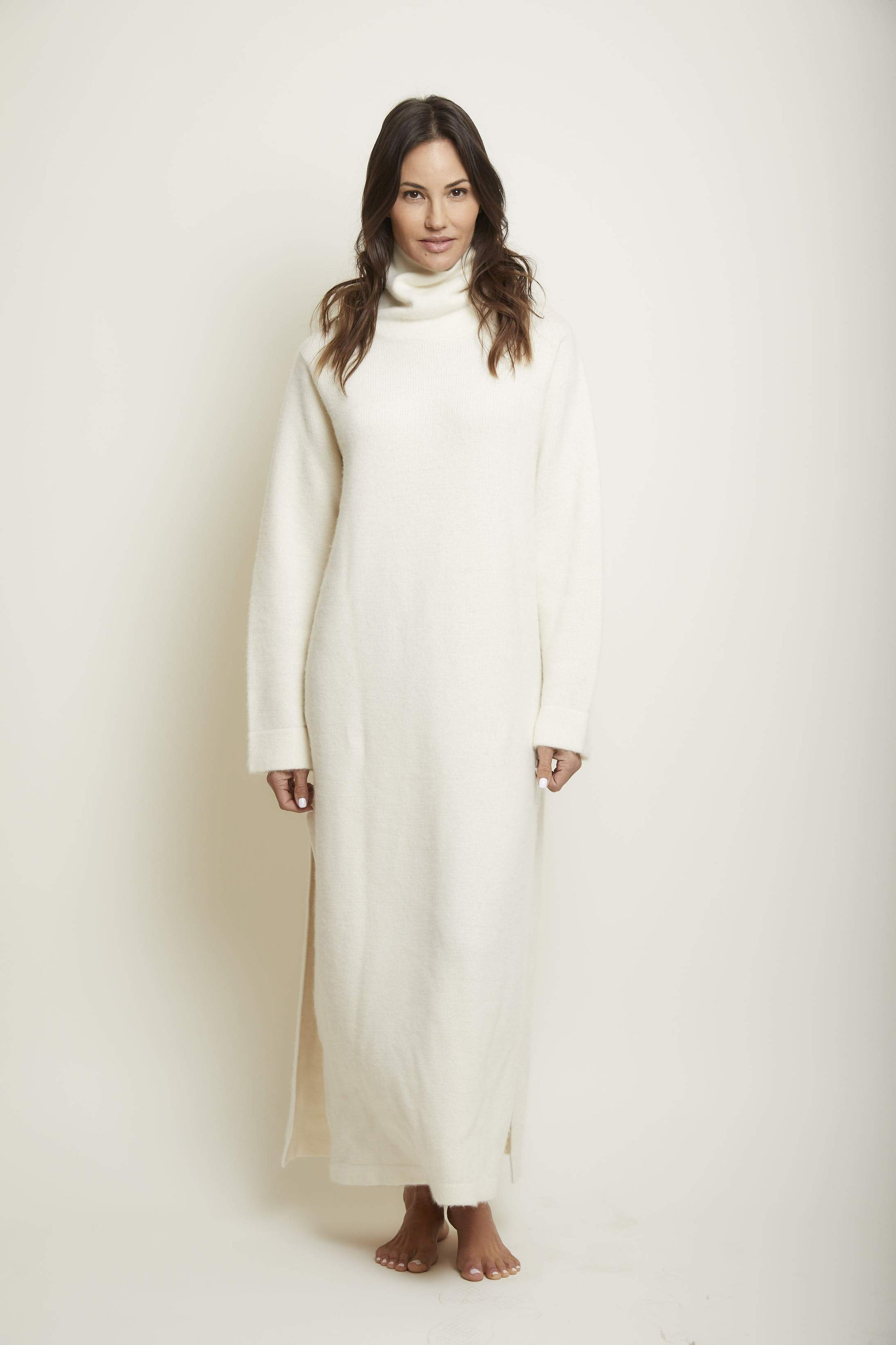 Long Cashmere Dress