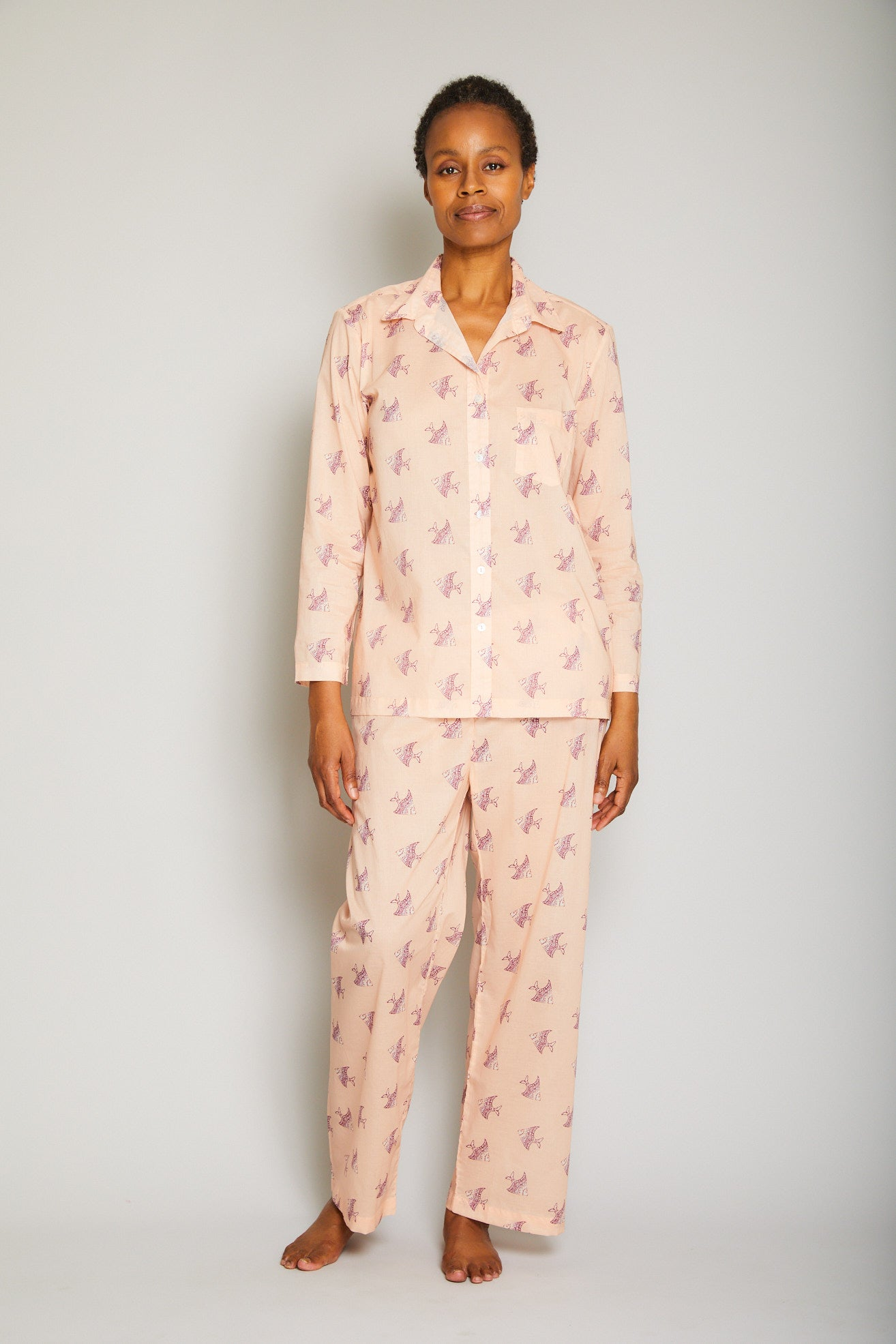 Multi Fish Pajama Set