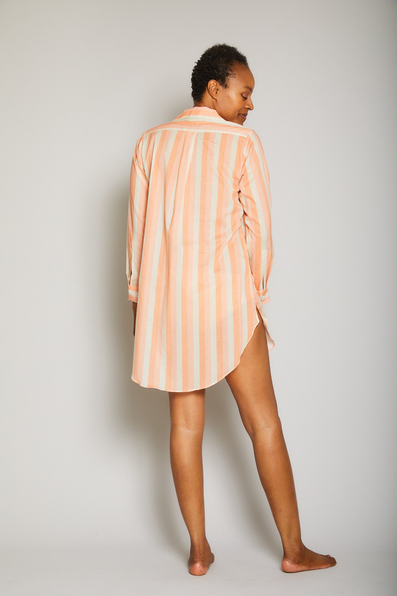 Striped Poet Sleep Shirt