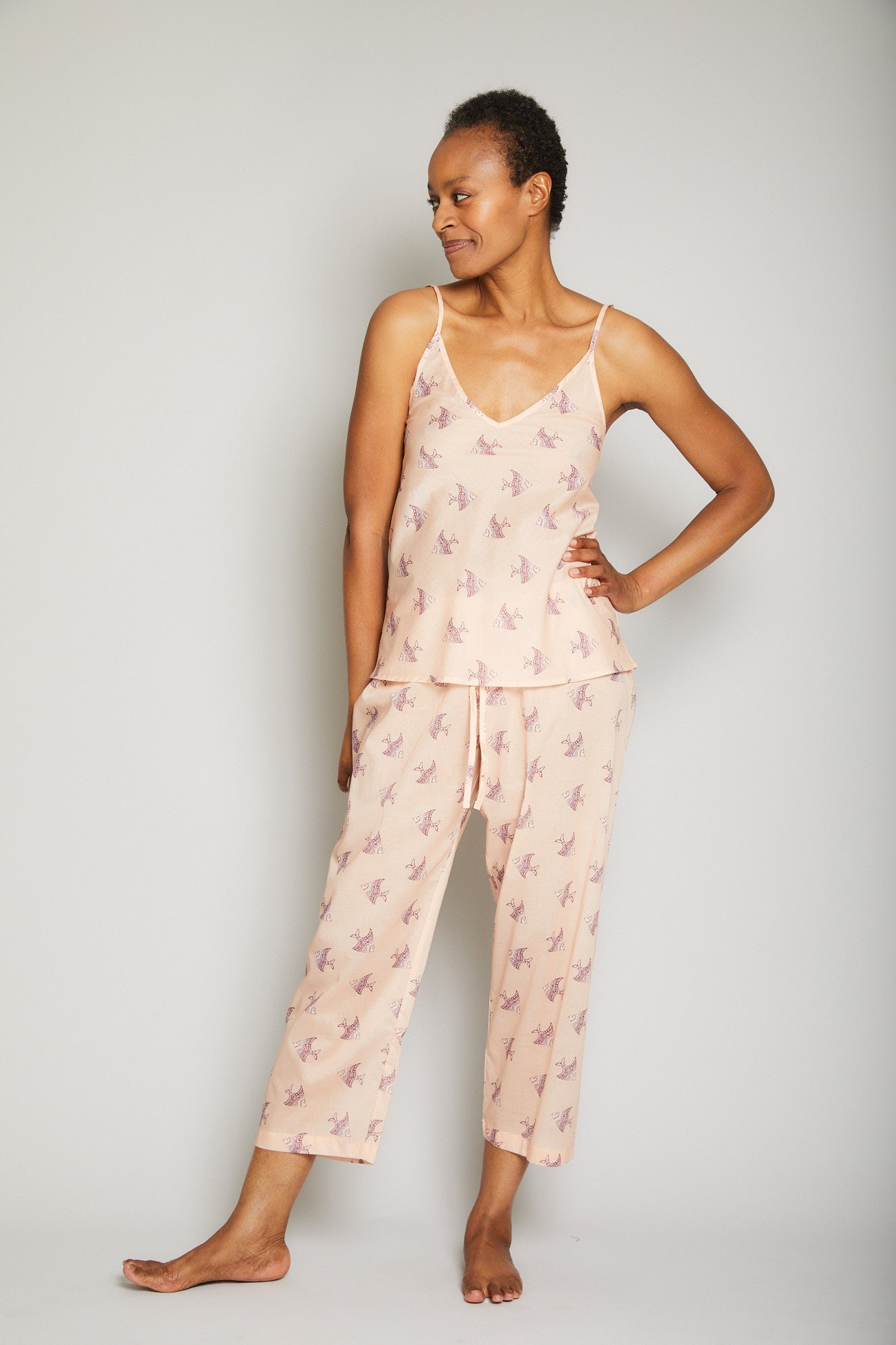Cami Crop Pant Pajama Set
