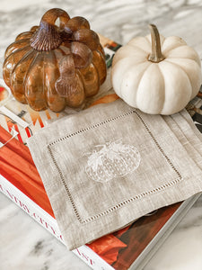 Pumpkin Cocktail Napkins