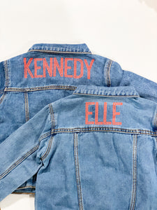 Custom Denim Jackets (Kids)