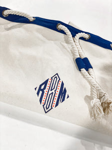 Canvas Laundry Duffle