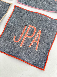 Chambray Cocktail Napkins