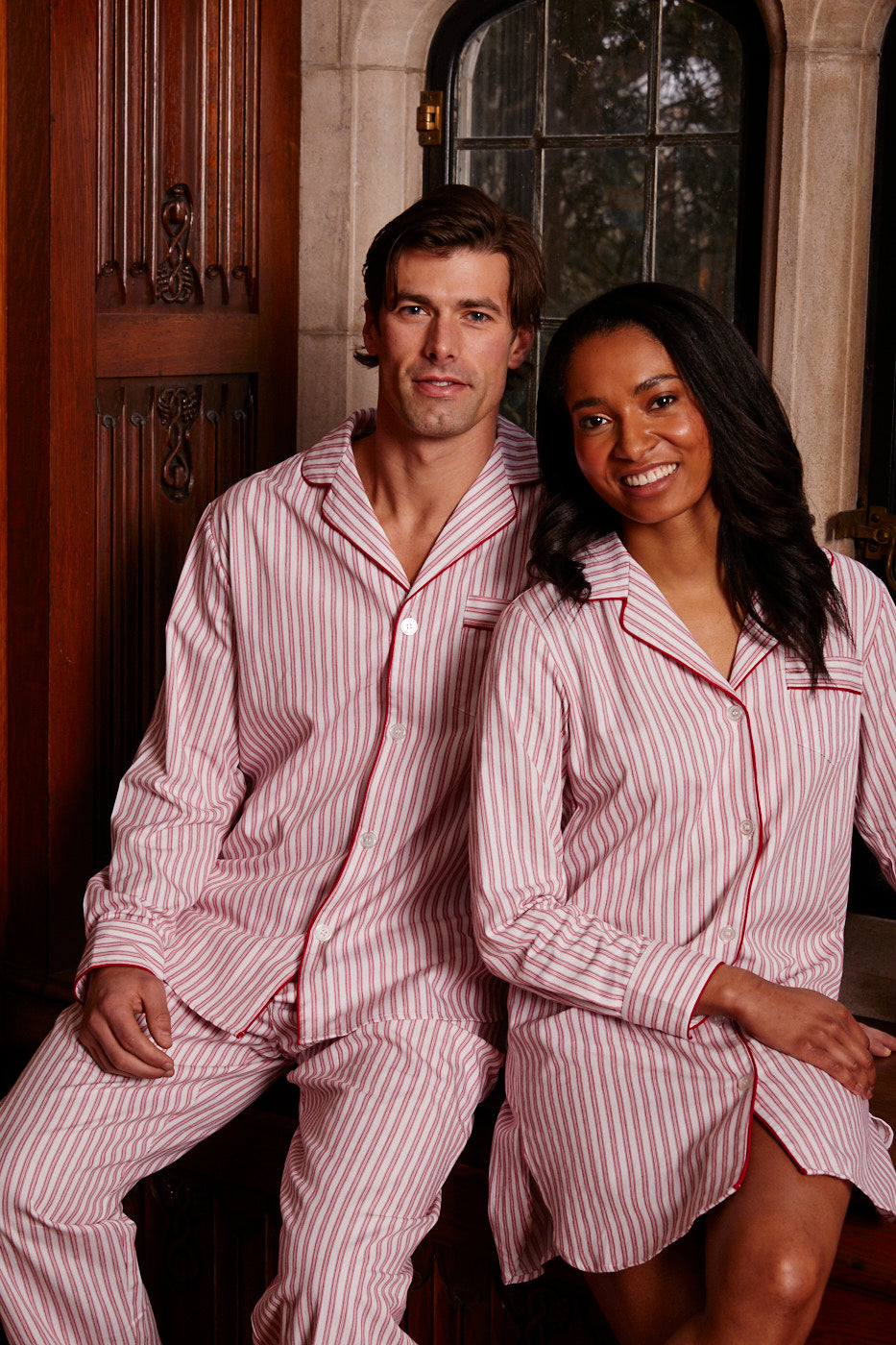 Petite Plume Adult Holiday Pajama Set