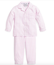 Load image into Gallery viewer, Petite Plume Gingham Kid's Pajama Set