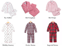 Load image into Gallery viewer, Petite Plume Children's Holiday Pajama Set