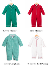 Load image into Gallery viewer, Petite Plume Holiday Baby Pajamas