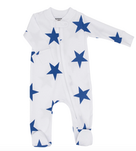 Load image into Gallery viewer, Sammy + Nat Star Print Baby Pajamas