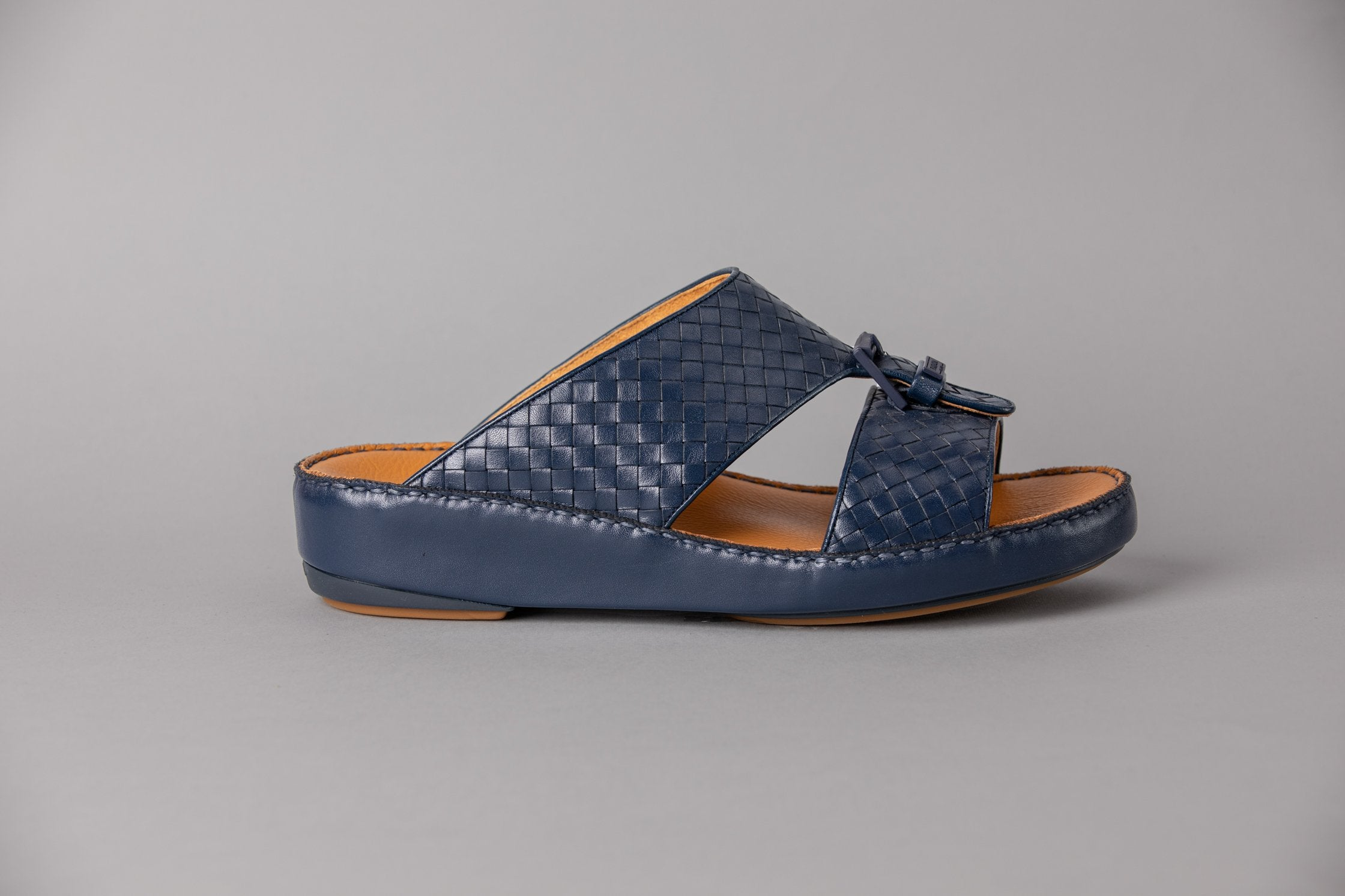 Marco Calf Weaving Navy (3992WE)