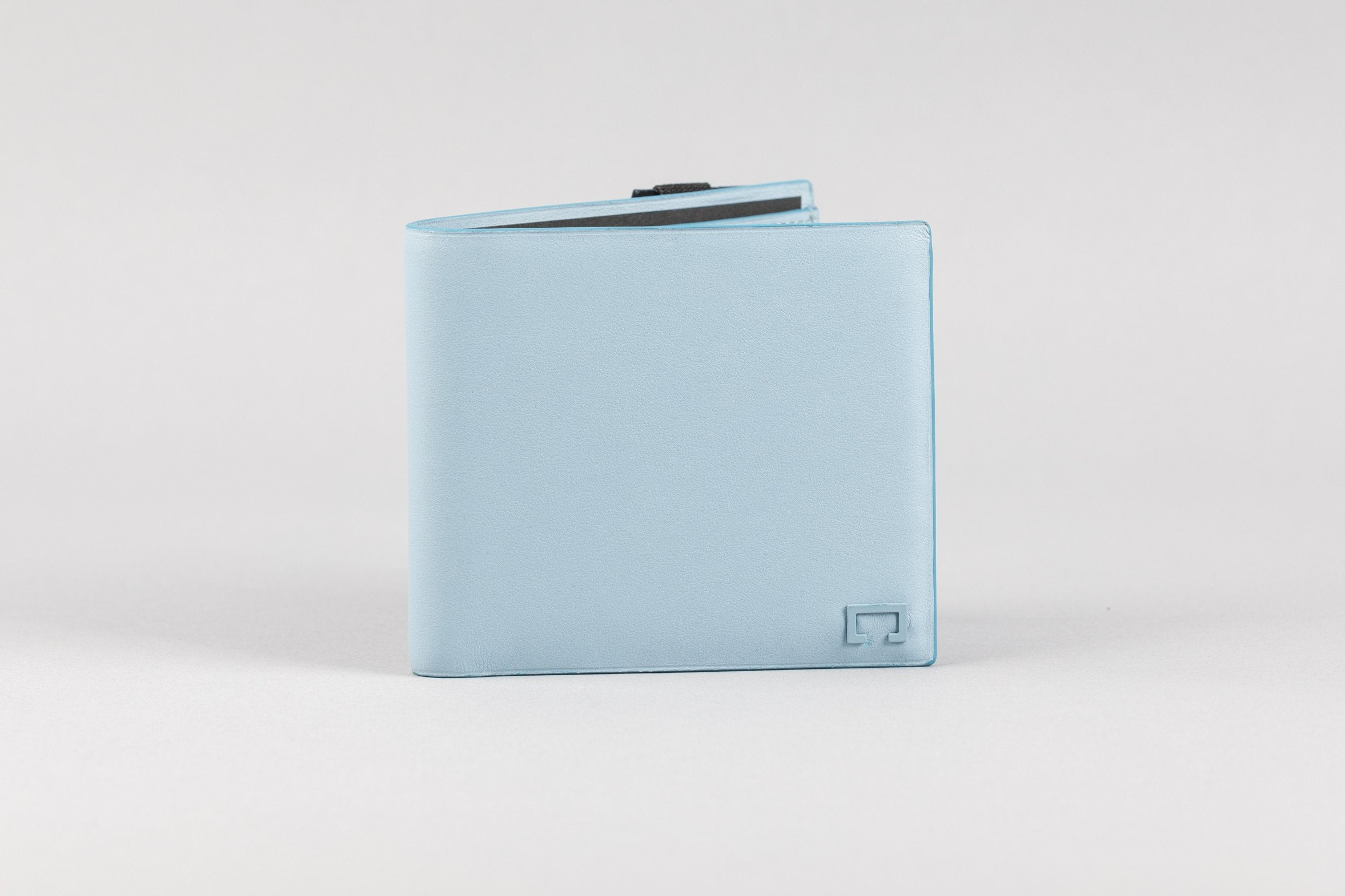 Sky Blue Calf Matte Wallet (2006K)