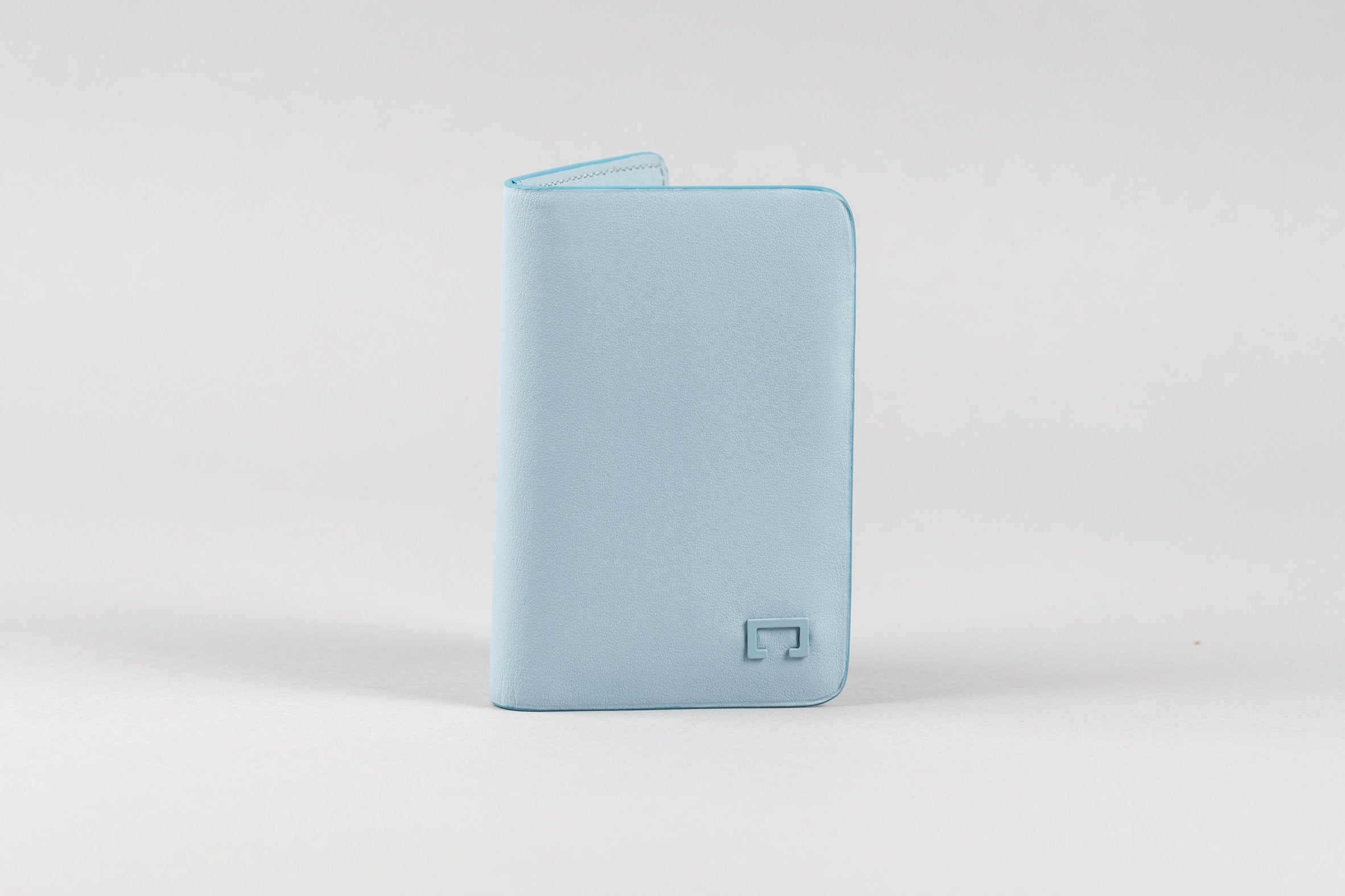 Sky Blue Calf Matte Card Holder (2053K)