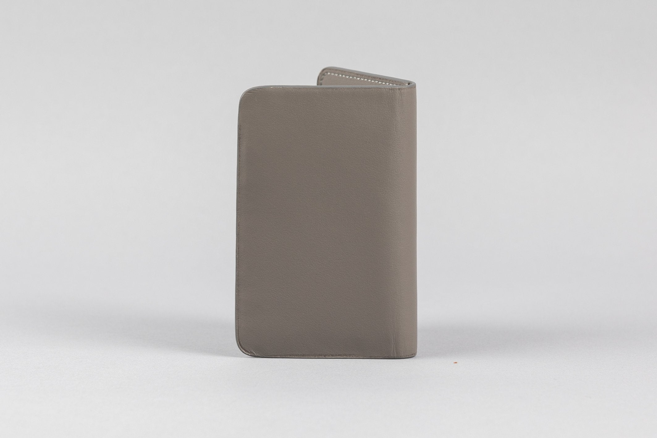 Dark Grey Calf  Matte Card Holder (2053K)