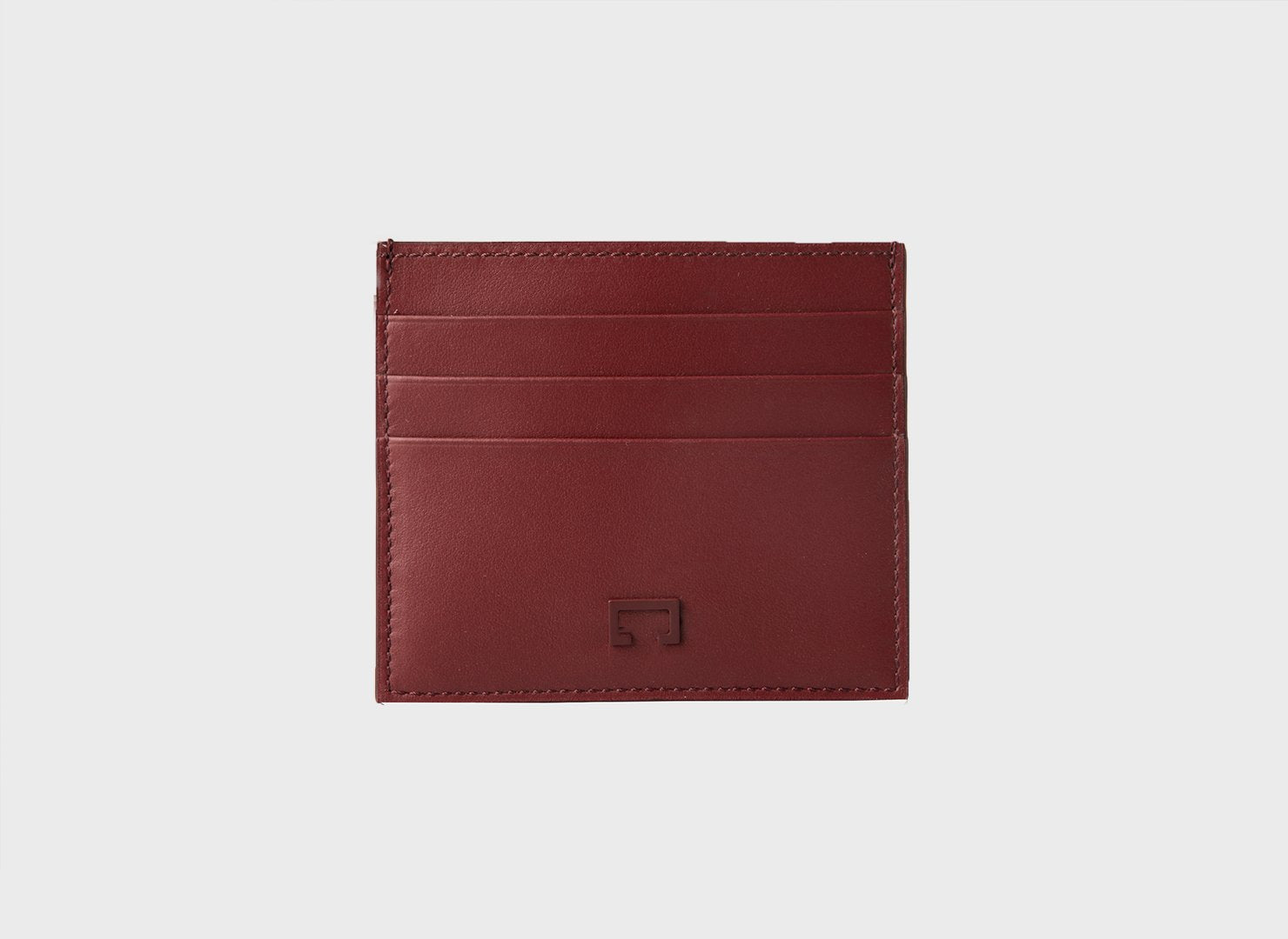 Maroon Calf  Matte Card Holder (1944K)