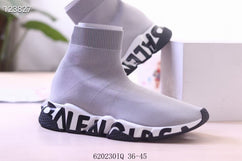 BALENCIAGA SPEED KNIT MID SNEAKERS