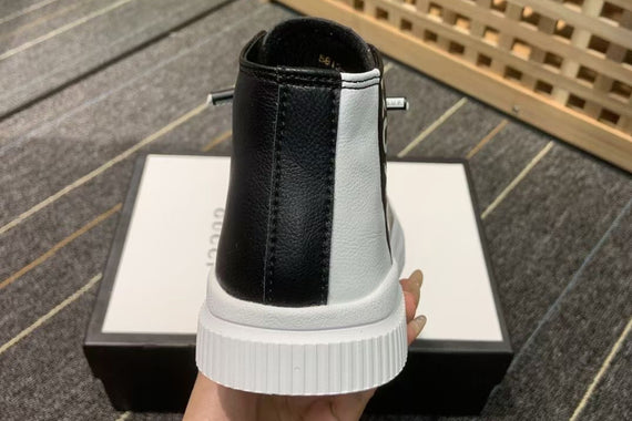 GUCCI TIDE LEATHER SHOES