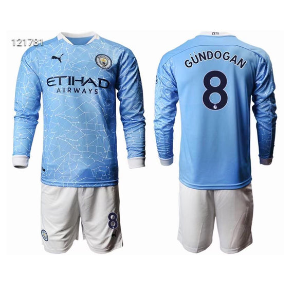 MANCHESTER CITY 2021 HOME JERSEY