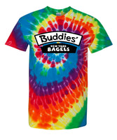 Buddies' New York Bagels - Tye Dye T-Shirt
