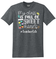 #TeacherLife Valentines T-Shirt