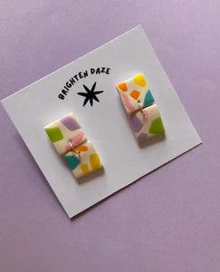 Hand Painted Goldfinch Pin Small