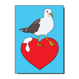 I love Seagulls card
