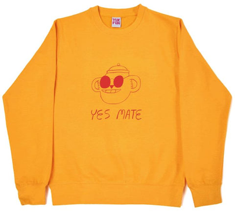 Yes Mate No Mate - Sweatshirt