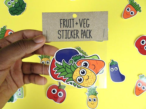 Fruit & Veg Sticker Pack