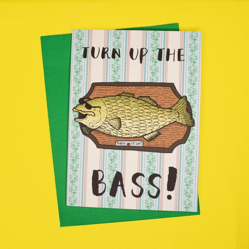 Turn up the bass Card