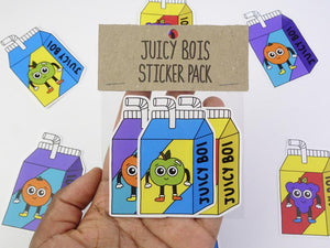 Juicy Bois Sticker Pack