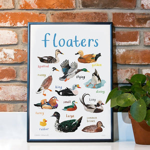 Floaters Print