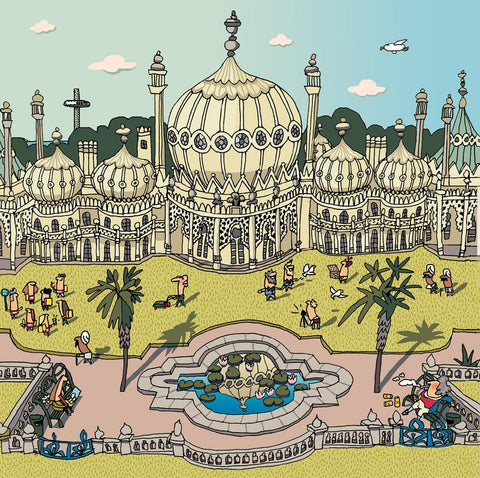 Brighton Pavillion Gardens Card
