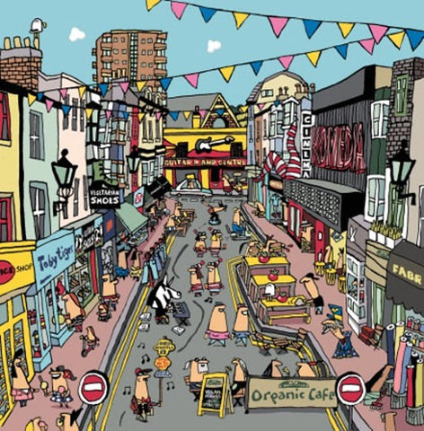 North Laine Card