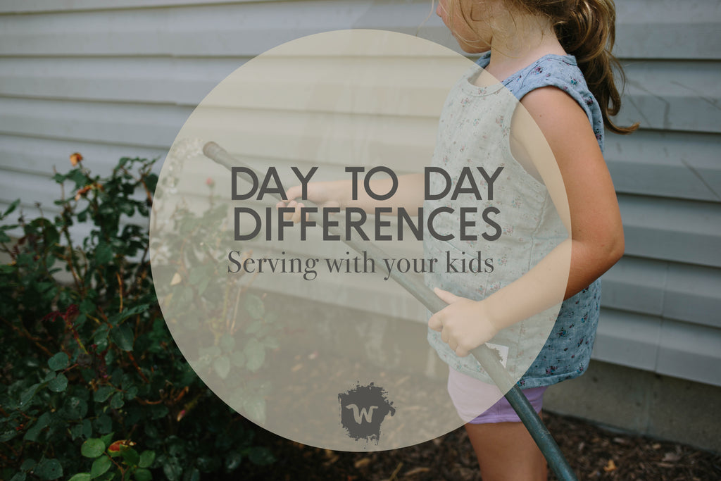 Daily Differences: Serving With Your Kids